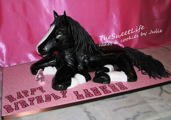 horse cake foal cake by The Sweet Life Cakes & Cookies by Julie