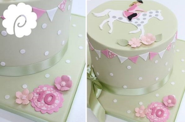 horse cake pony cake by Poppy Pickering inspired by The Chocolate Strawberry