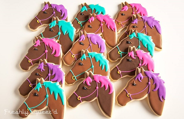 horse cookies by Freshly Squeez'd, inspired by Not Betty Cookies