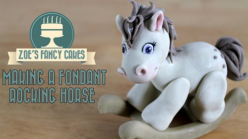 rocking horse cake topper tutorial by Zoe's Fancy Cakes