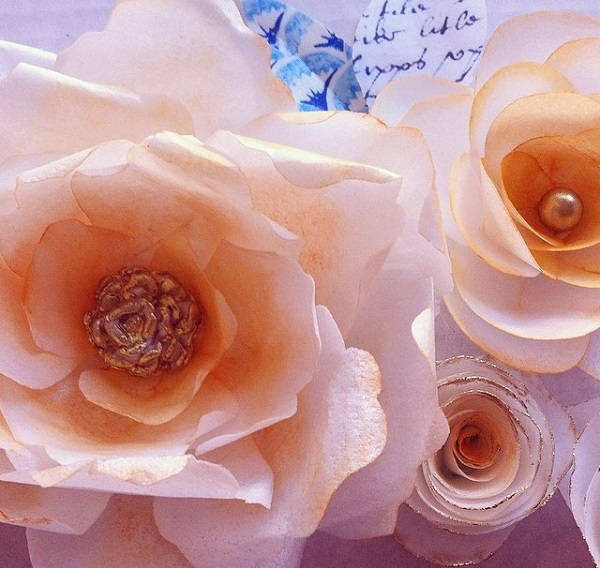 Whipped Bakeshop wafer paper flowers