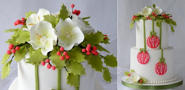 christmas cake decorating idea from Cake Heaven