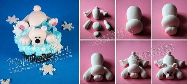 polar bear tutorial via the Minjina Kuhinjica blog