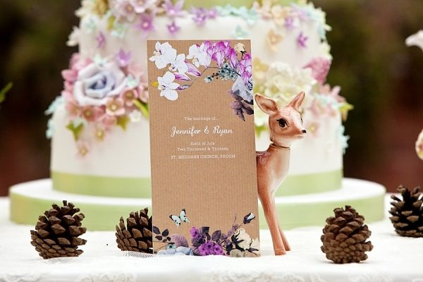 woodland wedding cake, Midsummer Night's Dream wedding cake from blovedweddings uk blog