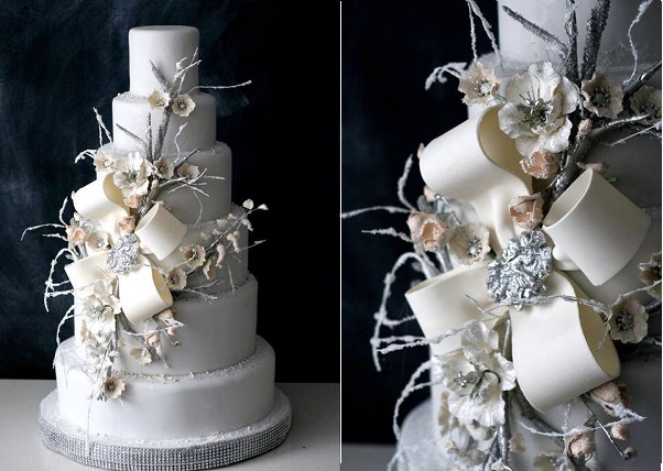 1. winter wedding cake by The Caketress