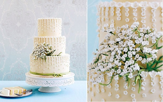 Spring wedding cake by Kate Sullivan of Cake Power