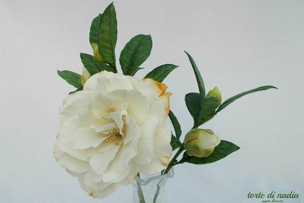 gumpaste rosebud by Torta di Nadia, Italy