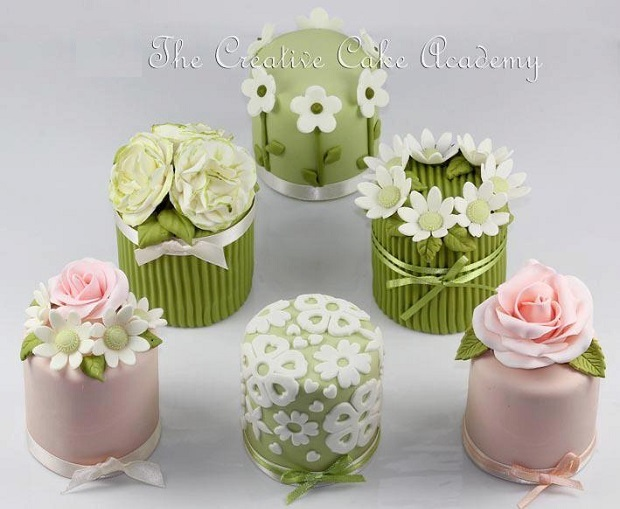 spring cakes by The Creative Cake Academy UK