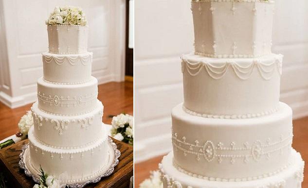 Edwardian wedding cake by Big Day Cakes