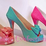 sugar shoes gumpaste shoes by Crafty Confections, Ireland