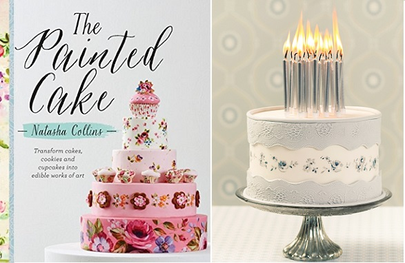 The Painted Cake by Natasha Collins