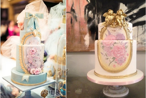 antique frame cake designs by The Cake Opera Co.