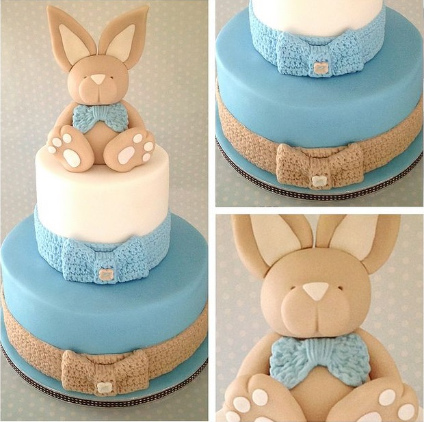 bunny rabbit cake via Wintersgate on Flickr