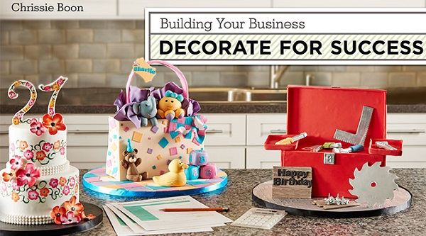 commercial cake decorating tutorials by Chrissie Boon on Craftsy
