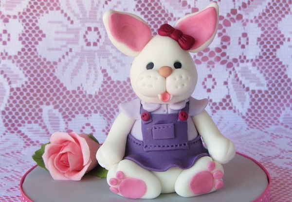 easter bunny cake topper by Box Hill Bespoke Cakes