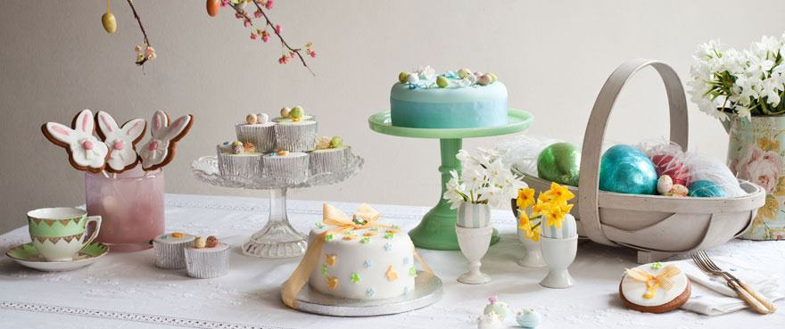 easter cakes by Fiona Cairns
