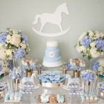 rocking horse baby shower cake via The Pretty Blog, image by Nisha Ravji Photography, White Door Events
