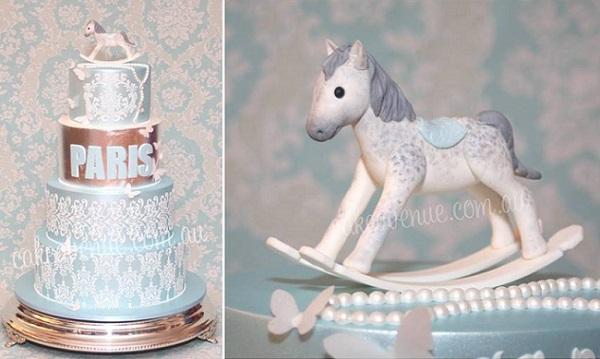 rocking horse cake by Cake Avenue AU