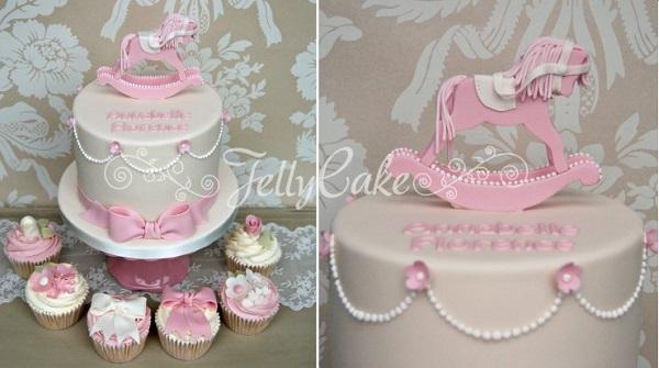 rocking horse cake by Jelly Cake UK