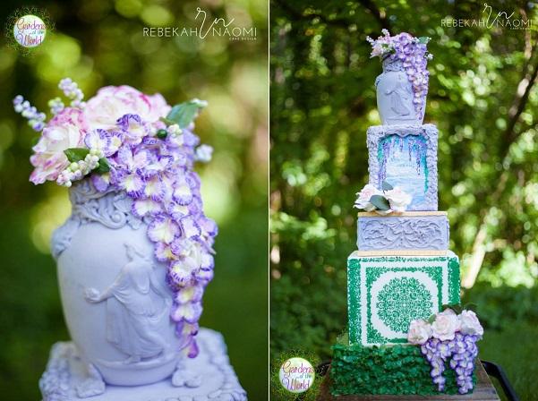 By Rebekah Wilbur of Rebekah Naomi Cake Design