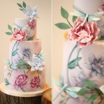 dragonfly wedding cake by Sweet As Sugar Cakes