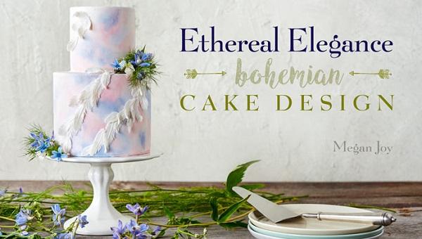 Boho Wedding Cake tutorial with Megan Joy on Craftsy
