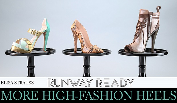 Runway Ready Fashion Heels by Elisa Strauss on Craftsy