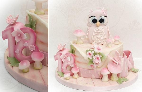 18th birthday cake by Samantha's Cake Design, Jersey