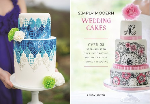 Simply Modern Wedding Cakes by Lindy Smith