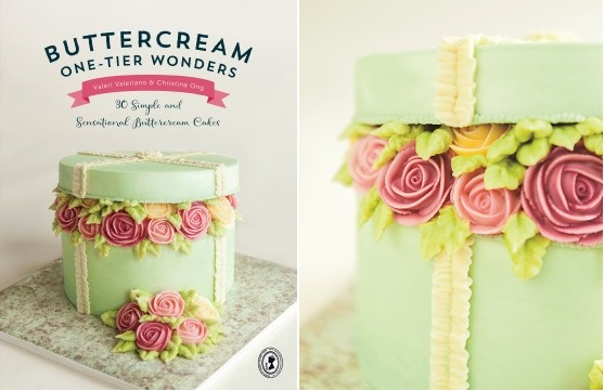 buttercream hatbox cake tutorial excerpted from Buttercream One-Tier Wonders, FW Media