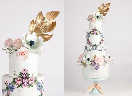 Bohemian wedding cake by Nadia & Co., Bohemian Dream