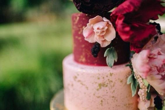 Bohemian wedding cake by The Cake That Ate Paris