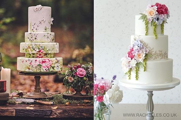 boho wedding cakes bohemian wedding cakes in soft shades cake magazine 12084