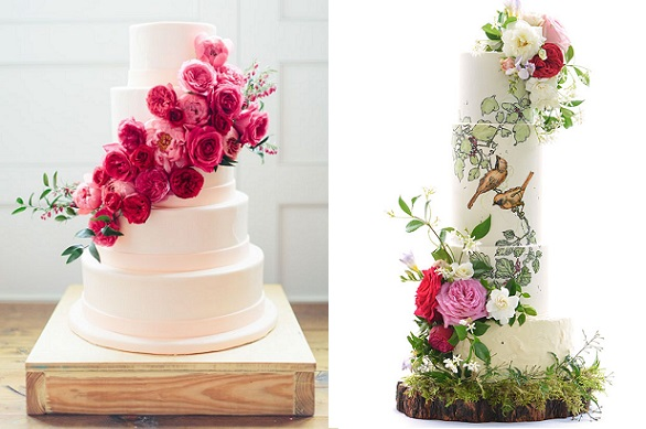 bohemian wedding cake designs bohemian wedding cakes in rich tones cake magazine 12072