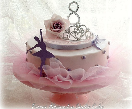 Ballerina cake by Alessandra Frisoni