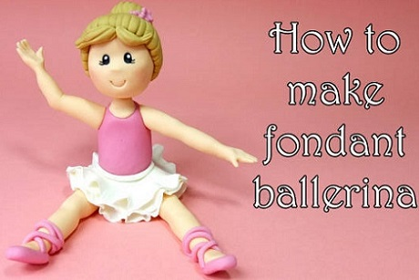 ballerina cake topper tutorial by Just Cake It