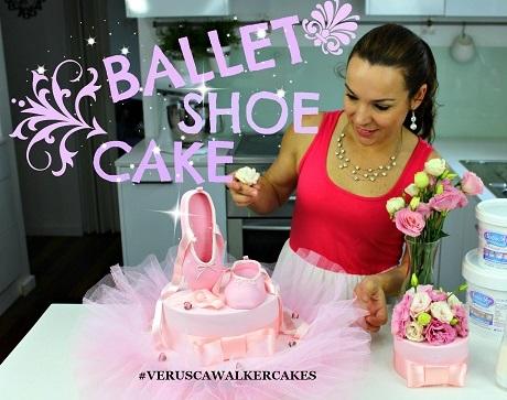 ballet cake tutorial by Verusca Walker