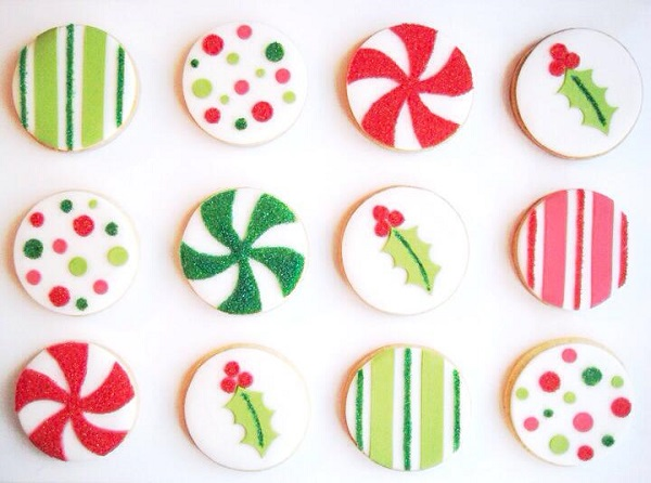 Sparkling christmas cookies by Eat Cake Be Merry