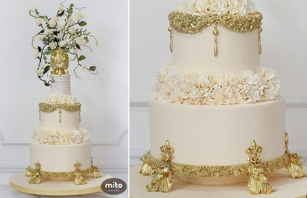 Edible cake stand by Mito Sweets
