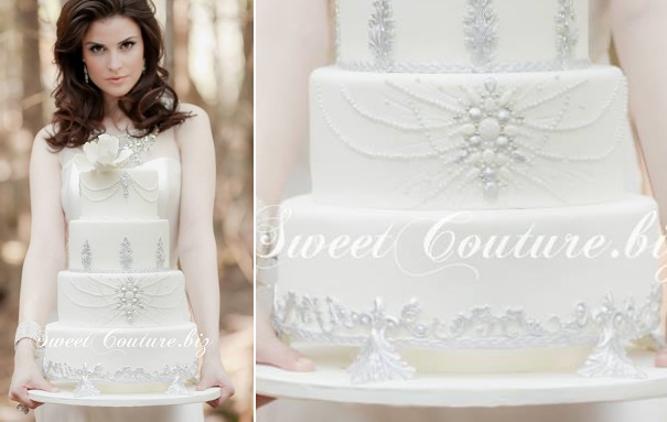 Edible cake stand by Sweet Couture.biz, Bonnalie Brodeur Photography