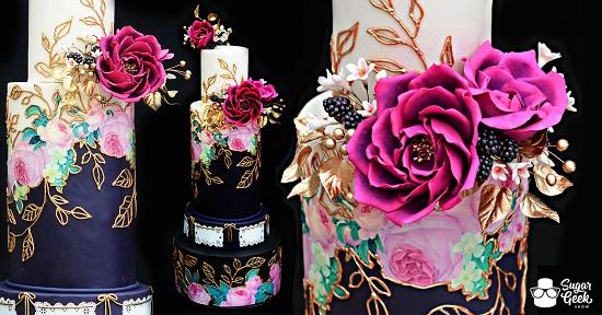 jewel-toned-mexican-inspired-wedding-cake-tutorial-sugar-geek-show