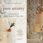 peaches and gold stencilling tutorial by Emily Lael Aumiller from her book Pure Artistry
