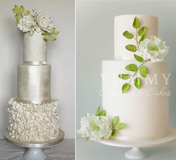 Foliage Greenery Decorated Wedding Cakes 2017 Wedding Cake Trend Cake Geek Magazine
