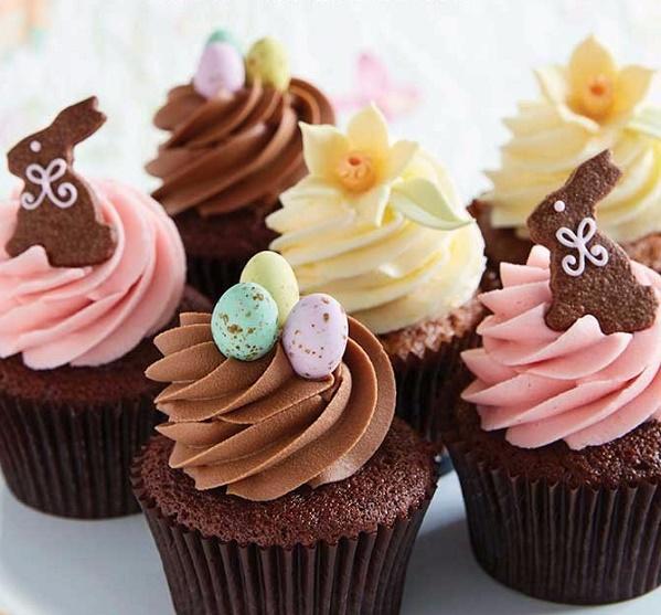 Easter cupcakes by Peggy Porschen Cakes