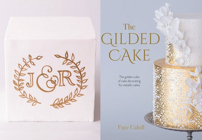 Cake Calligraphy Tutorial by Faye Cahill from The Gilded Cake