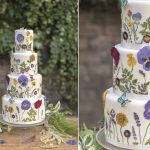 Wildflower Wedding Cake Tutorial