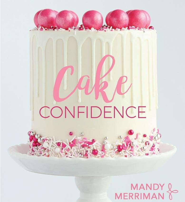 How to Perfectly Buttercream a Cake the Easy Way from Cake Confidence by Mandy Merriman