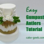 Gumpaste Antlers Tutorial on Cake-Geek.com (3)