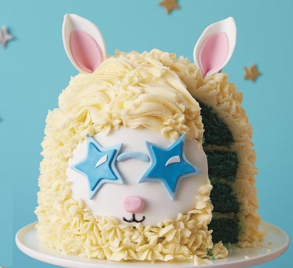 Llama Cake Tutorial on Cake-Geek.com - 3