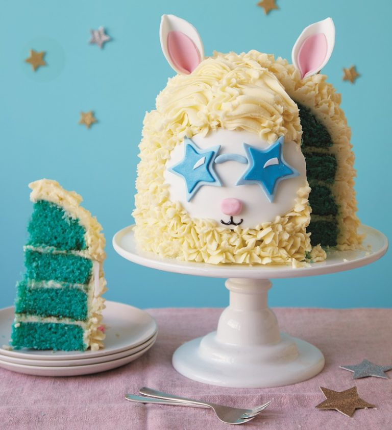 Llama Cake Tutorial on Cake-Geek.com